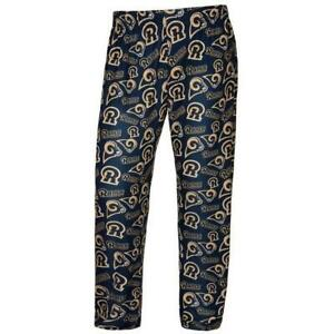 Los Angeles Rams Men's Lounge Pants Pajamas By Forever Collectibles