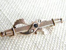 9 Carat Sapphire Yellow Gold Vintage Fine Jewellery