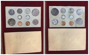 AMERICA United States Silver Mint Set Original  dal 1955 al 1965 ENTRA SCEGLI