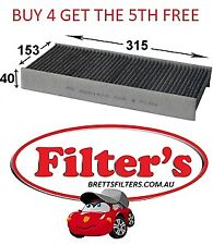 CABIN AIR FILTER PEUGEOT 407 2.7L V6 HDI DIESEL INC COUPE 2005-