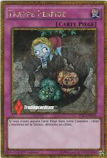 ♦Yu-Gi-Oh!♦ Trappe Perfide (Treacherous Trap Hole) : PGL3-FR036 -VF/SECRET R.-