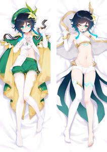 Genshin Impact   Venti  Anime Body Pillow Case Cover Multi-size