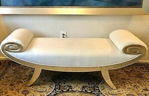 Christopher Guy MEDEA Bench In Italian Gold Finished. Original Price $3,668