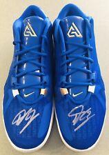 Giannis Antetokounmpo Autographed Nike Zoom Freak 1 Signed US 16 Auto Shoes JSA