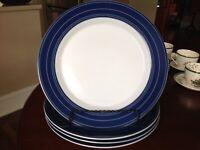 """Dansk """"LEGATO"""" set of (4) Dinner Plates"""