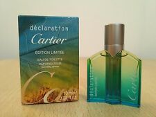 Declaration Edition Limitee Cartier for men 10ml EDT MINI MINIATURE PERFUME New
