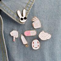 Enamel Brooch Pins Shirt Collar Lapel Pin Breastpin Women Jewelry G jo