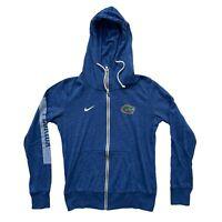 Florida Gators Nike Womens Full Zip Hoodie Blue Size M Medium Long Sleeve