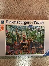 "Ravensburger ""Greenhouse Morning"" 500 Piece Puzzle Rare/Hard to Find"