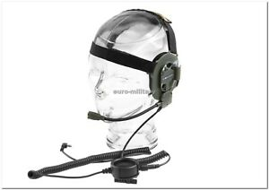 MIDLAND® Professional Military BOW-M EVO Headset Double Audio System - New