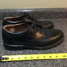 Dockers Mens Sz 10M Black Leather Pro Style Motion Comfort Lace Up Oxford Shoes