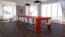 Tavolo Consolle allungabile ingresso soggiorno fino a 3 mt rosso lucido laccato