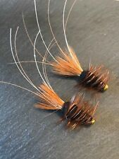 Black Francis Salmon/Sea Trout Tube Flies Size 0.5 and 1 inch