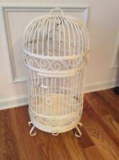 Vintage Victorian Painted Iron Bird Cage