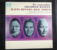 Mavis Rivers & Red Norvo ‎– We Remember Mildred Bailey (Vee Jay ‎– VJ-1132)