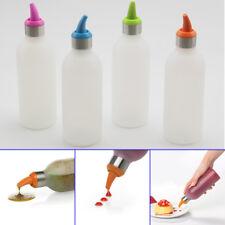 Plastic Squeeze Bottle Condiment Dispenser Sauce Vinegar Oil Jam Cooking Tools