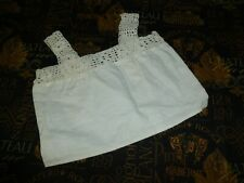 Antique Doll Camisole-Victorian Edwardian Corset Cover Camisole Blouse Handmade