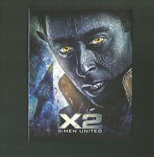 X2 : X-MEN UNITED - FILMARENA FAC # 53 BLU RAY STEELBOOK - NEW & SEALED