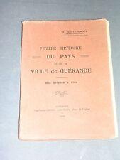 Régionalisme Loire Atlantique Histoire du pays et de la ville de Guérande 1922