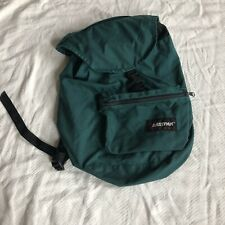 Vintage 90's Eastpak Forest Green Cinch Backpack Made In USA