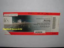 MORRISSEY Concert Ticket BOCA RATON Mizner 2009 The Smiths TOUR OF REFUSAL Rare