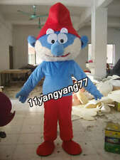 Great Design Papa Smurfs Christmas Cartoon Mascot Costume Character Fancy Dress