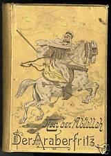 1895 Araberfritz Nser b. Abdallah Arabien Araber Afrika