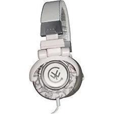 Urbanz Flash DJ Style Full Over Ear Stereo Swivel Headphones New - Grey & White