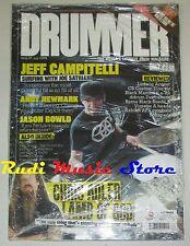 DRUMMER Magazine SEALED Lug 2008 Jeff Campitelli Chris Adler Andy Newmark No cd