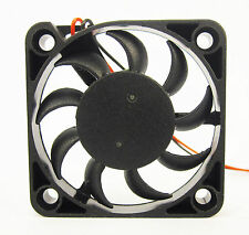 40mm 7mm New Case Fan 12V DC 6CFM 2 Wire Fluid Brg PC CPU Computer Cooling 058*