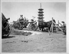 Photo 1939 Old Fire Engine World's Fair Treasure Island