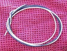 4 Ft Gavitt Black & White Cloth Push Back 22ga Wire For Vintage Guitar & Bass