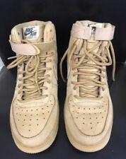 Nike Air Force 1 High LV8 Size 5.5Y Flax Wheat 807617 200