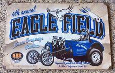Fuel Altered Tiajuana Taxi Eagle Field Fresno Dragways Reunion 12x18 Metal Sign