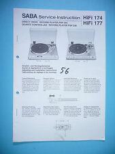 Service-Manual-Istruzioni per Saba PSP 244/psp 248, ORIGINALE!