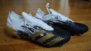 Adidas Predator Mutator 20.1 FG White/Black/Gold US 10