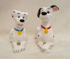 DISNEY 101 DALMATIANS PORCELAIN FIGURINES, CHINA, LOT OF 2