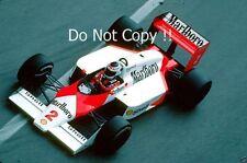 Stefan Johansson McLaren MP4/3 Grand Prix de Mónaco 1987 fotografía 1