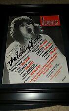 Rolling Stones Ladies And Gentlemen Rare Original Promo Ad Framed!
