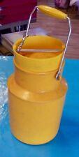 Berthe à lait - Bidon de lait - Pot à Lait Pola N°356 Orange ( 13 x 20 cm )