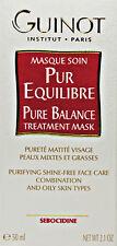 Guinot Pure Balance Treatment Mask Masque 50ml(2.1oz) Combination Oily Fresh New