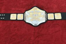 NWA NATION HEAVY WEIGHT BELT IN 4MM ZINC DEEP ETCHING FREE SHIPPING!