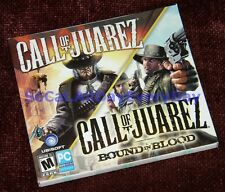 Call of Juarez Combo Pack (PC-DVD) **BRAND NEW & SEALED** 2 Games Bound in Blood