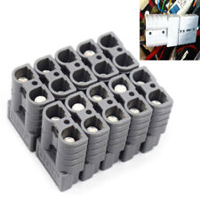 10PCS Battery Connector Kit 50A 6AWG Plug Connect Disconnect Winch Trailer Fine