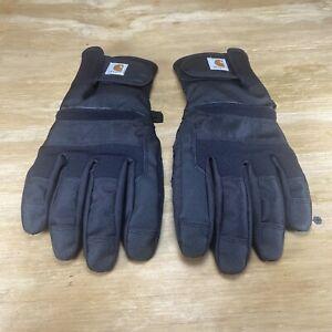Carhatt Mens Cold Snap Insulated Glove Black M,M A729