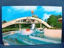 Postcard PA Lancaster Dutch Wonderland Lincoln Highway Rt 30 Flume Ride