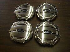 New T/O Ford 2009 2014 Truck Pickup F150 Wheel Center Hub Caps 2010 2011 2012 13