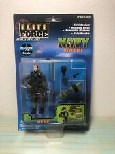 ELITE FORCE NAVY SEAL  1/18 SCALE # 21018 NIGHT OPS bbi