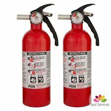 2 KIDDE HOME FIRE EXTINGUISHER Car Truck Dry Chemical Auto Garage Kitchen 5 B:C