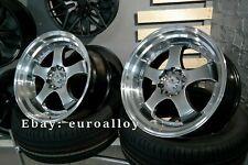 New 4x 18 inch 5x120 SSR SP1 style rims for BMW JDM Work Advan japan wheels